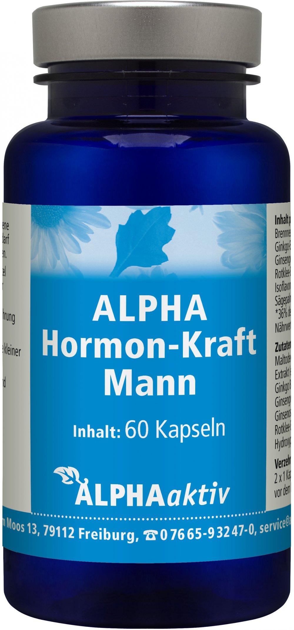 Biopure - Hormon-Kraft Mann