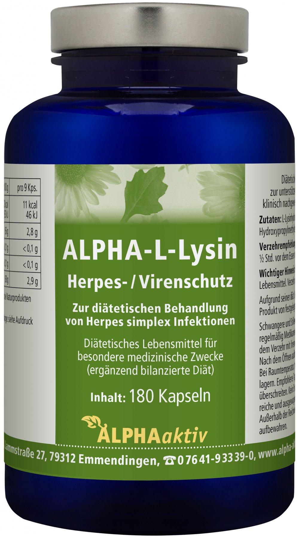 Biopure - L-Lysin/Herpesschutz